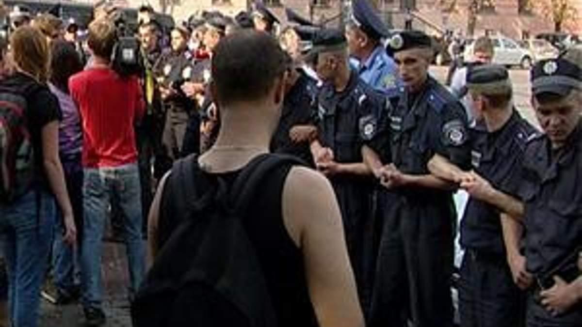 Студенти, попри заборону суду, продовжують мітингувати