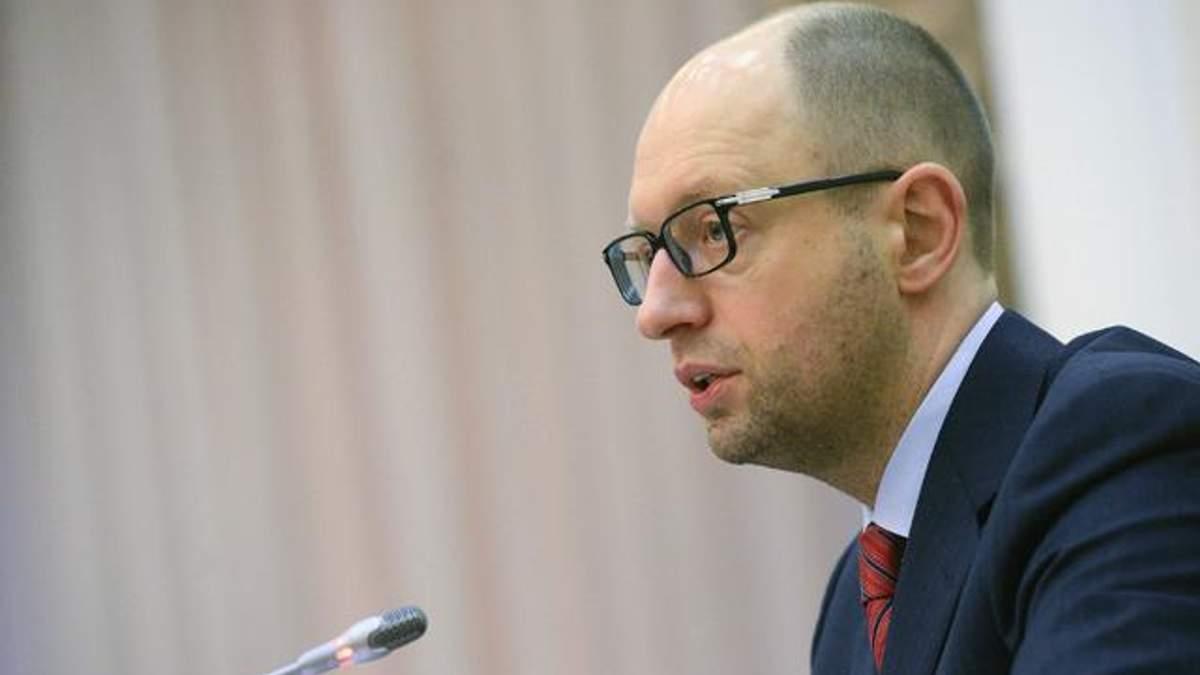 Україна не погодиться на врегулювання конфлікту ціною територіальної цілісності, — Яценюк