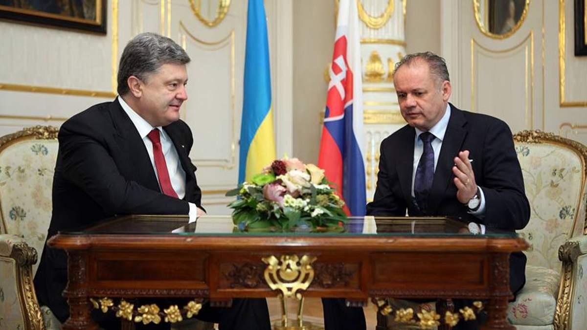 Україна має бути членом ЄС, — Президент Словаччини