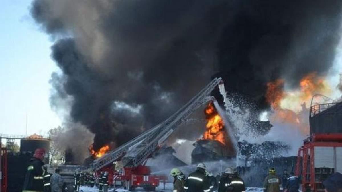"""Страшный пожар на нефтебазе продолжает убивать: умер работник """"БРСМ"""""""