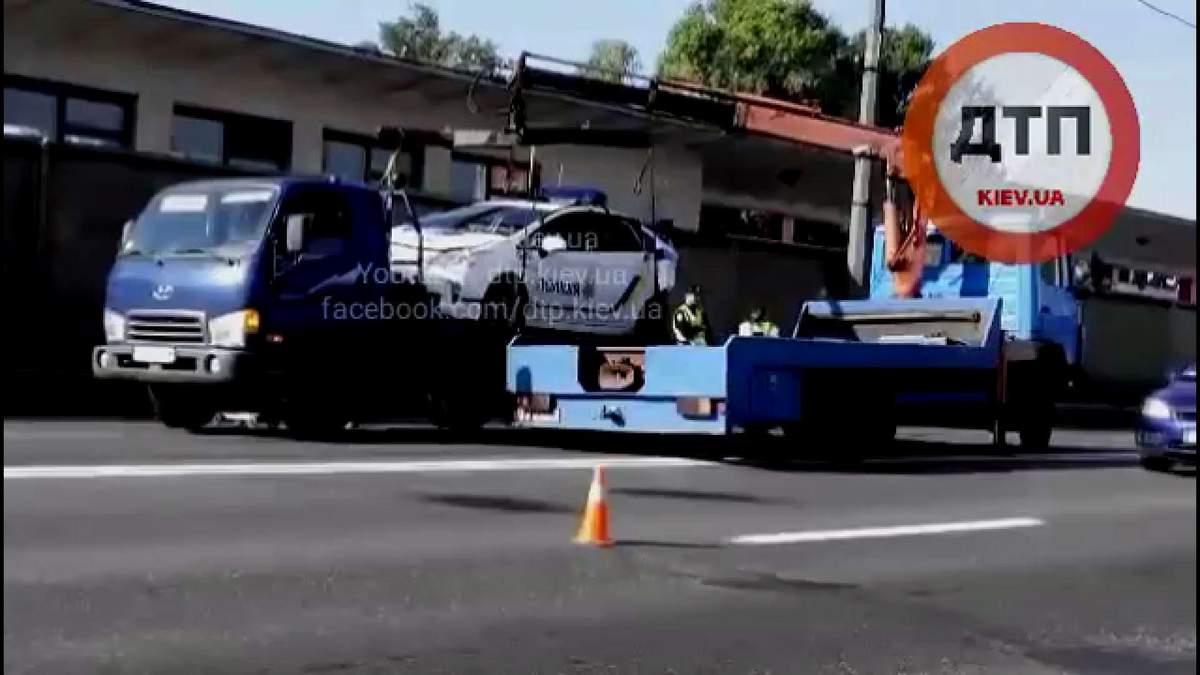 Очередная авария с участием новых полицейских