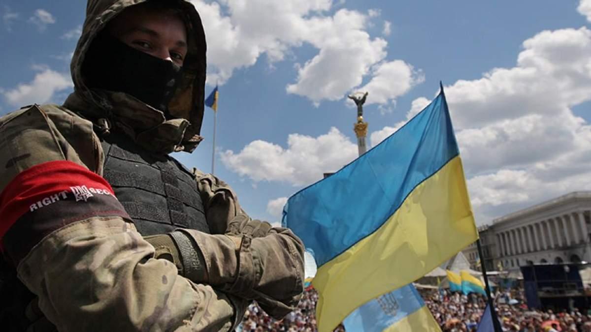 """Опрос: Как вы относитесь к вече """"Правого сектора"""" на Майдане?"""