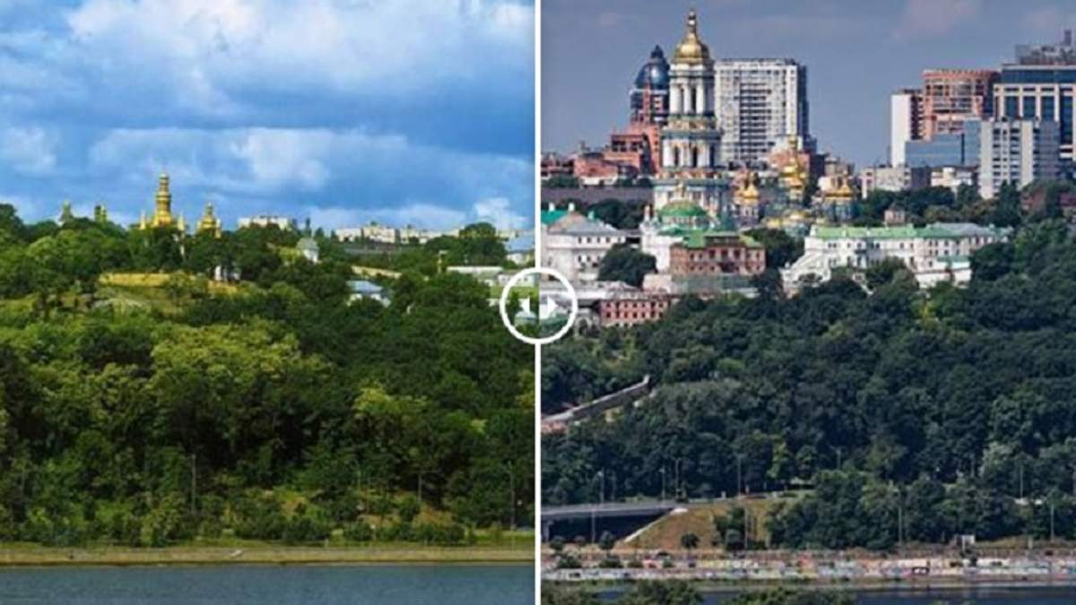 """Київ перетворюється на """"кам'яні джунглі"""""""