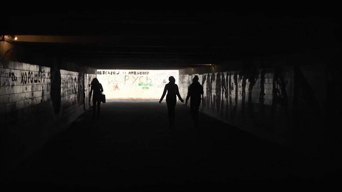 Чому київські підземні переходи схожі на декорації до фільмів жахів