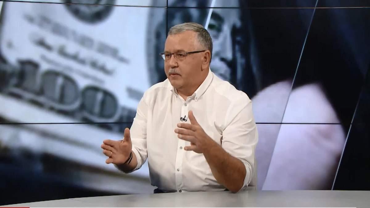 Корупція — це не просто вбивство моралі, а вбиство людей, — Гриценко
