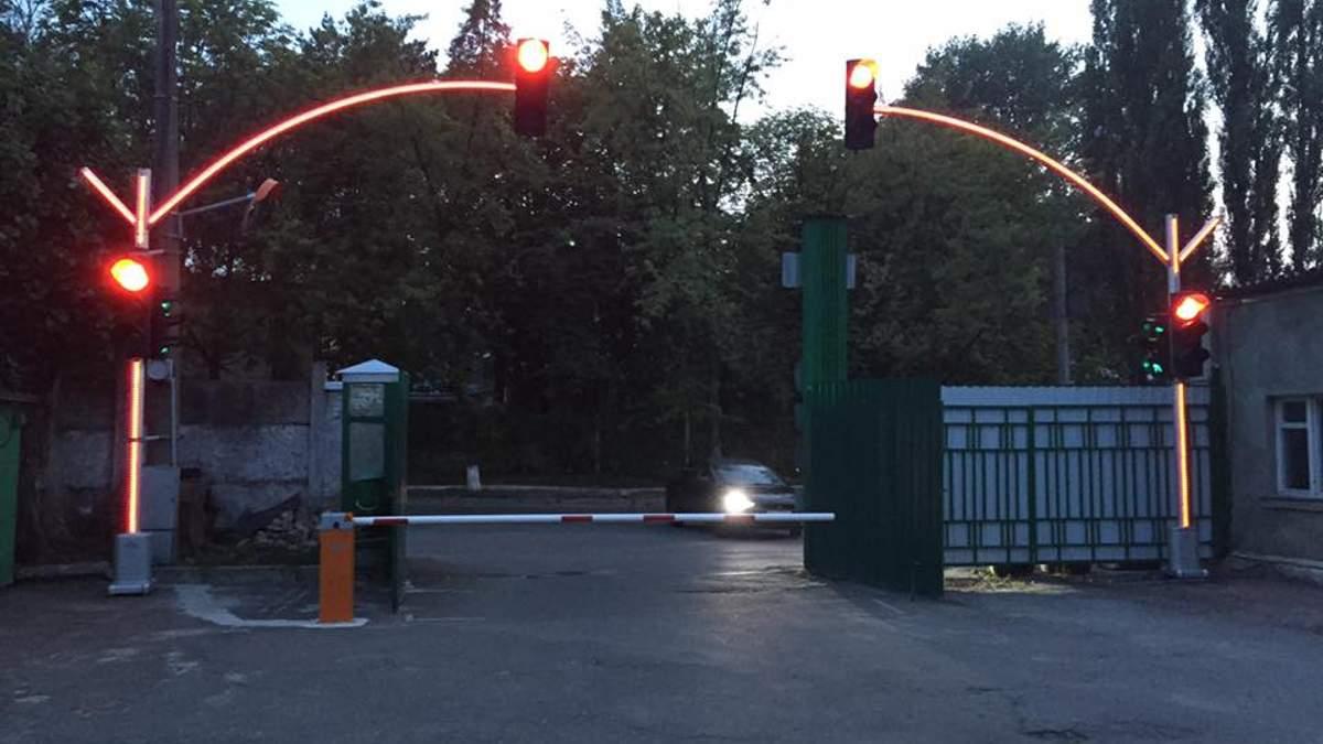 Фотофакт: в Киеве появится экспериментальный светофор
