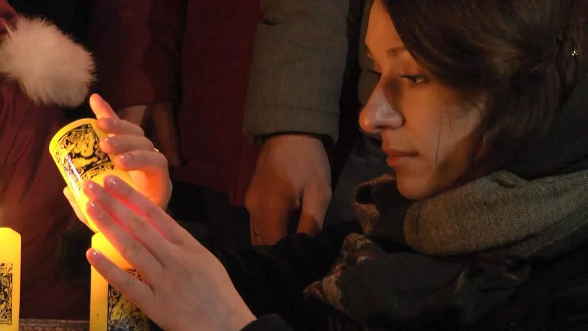 Волонтеры провели трогательную акцию в центре Киева