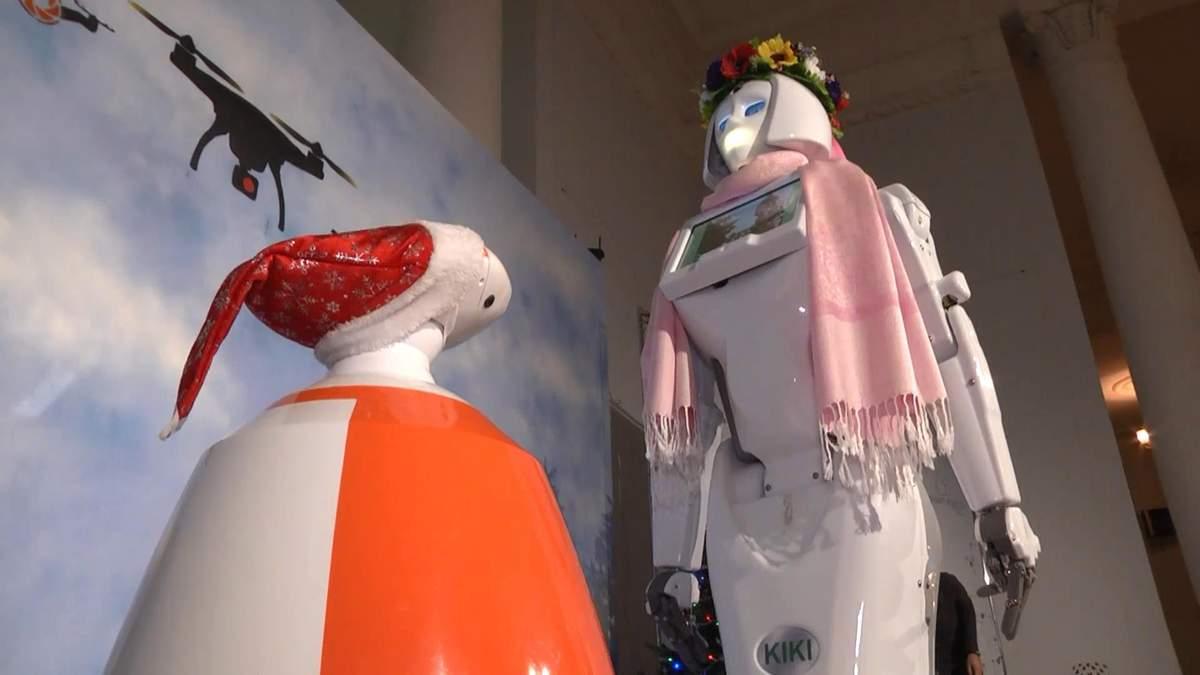 В Украине впервые открылась выставка роботов