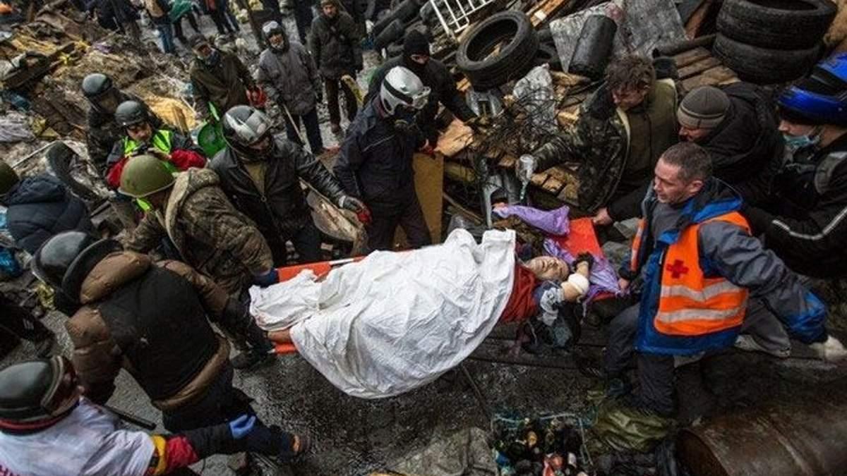 """Висота """"Жовтневий"""": опубліковано відео кривавих подій 20 лютого на Майдані"""