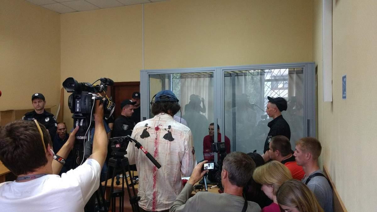 Судове засідання над Ярославом Тарасенком