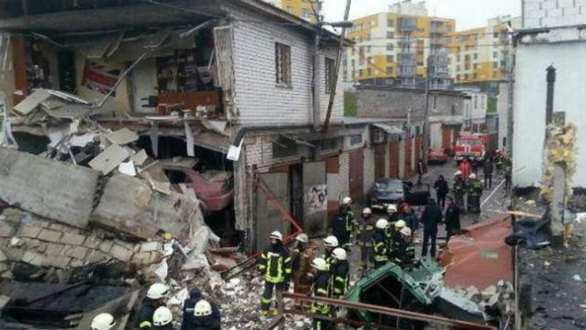 Мощный взрыв в центре Киева: к ликвидации привлекли министров
