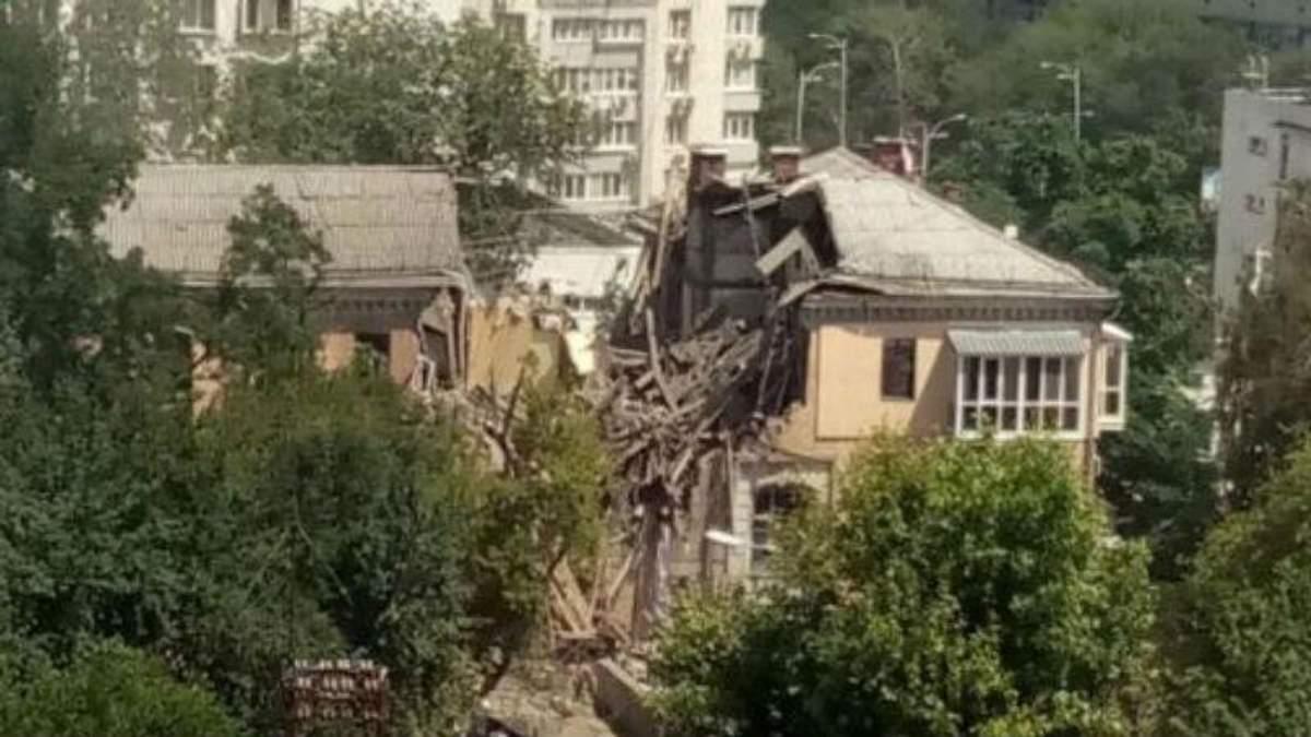 Появились новые детали взрыва в жилом доме Киева