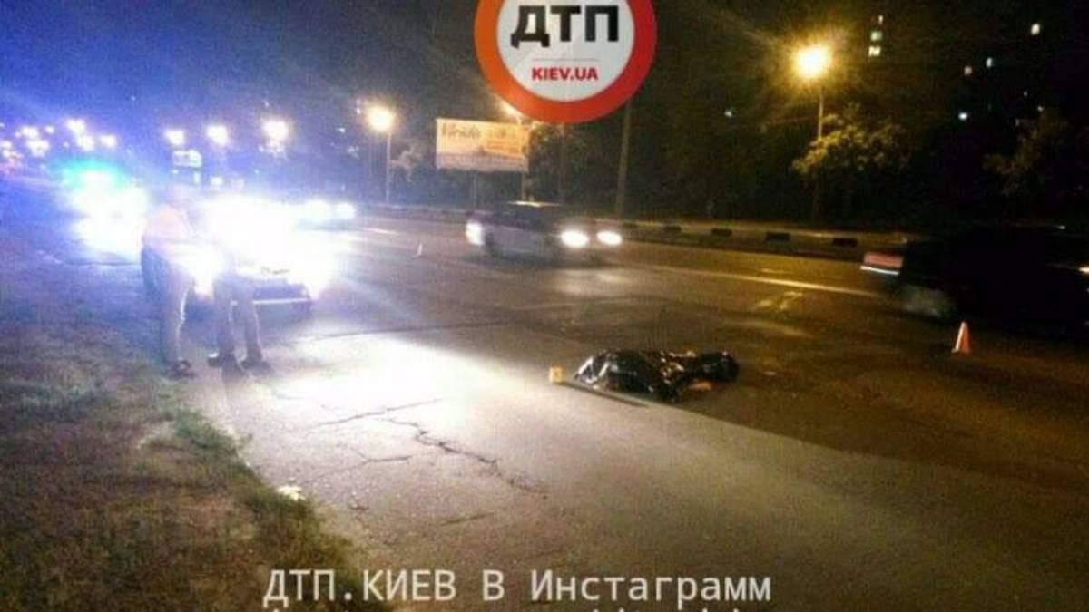 Аварія з пішоходом у Києві