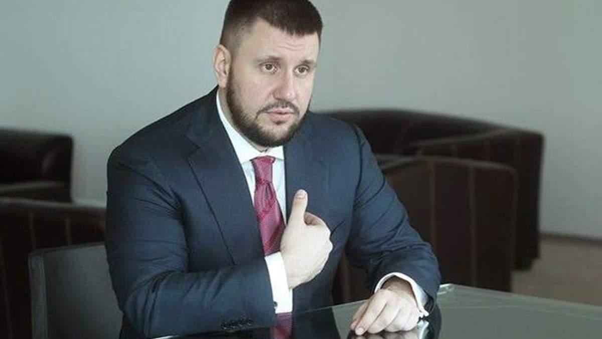 Олександр Клименко прокоментував обшуки у його приміщеннях