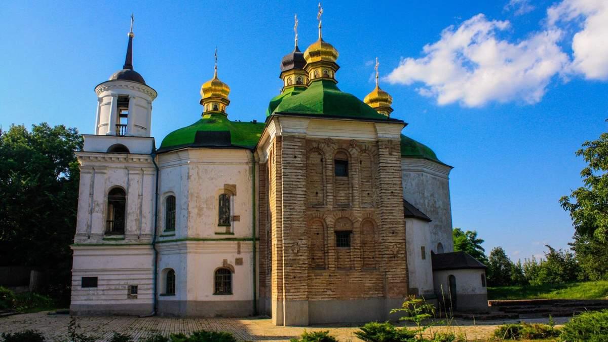 В Киеве началась реставрация церкви 11 века