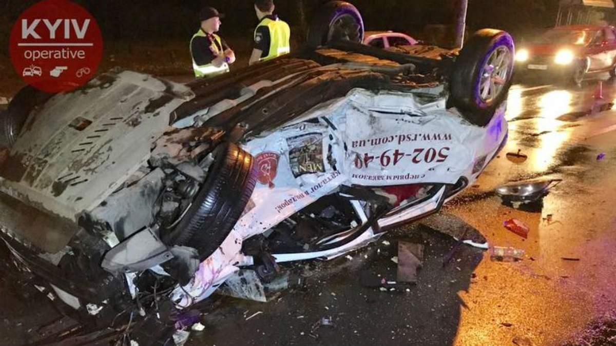 Ужасная авария в Киеве: сильно пострадал 4-месячный младенец