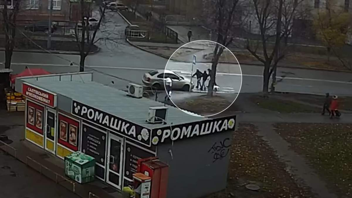 Ймовірне викрадення жінки у Києві