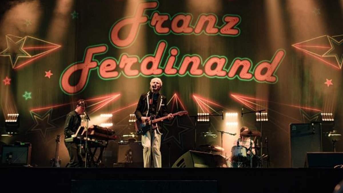 Franz Ferdinand вперше виступлять в Україні
