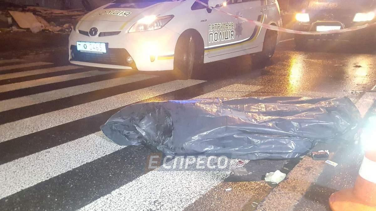 """В Киеве водитель-беглец сбил мужчину на """"зебре"""""""