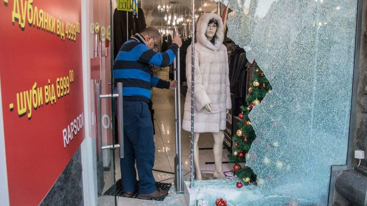 У центрі Києва з елітного магазину вкрали 40 найдорожчих шуб