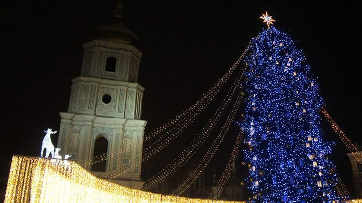 Новий рік 2018: як свято відзначили у Києві
