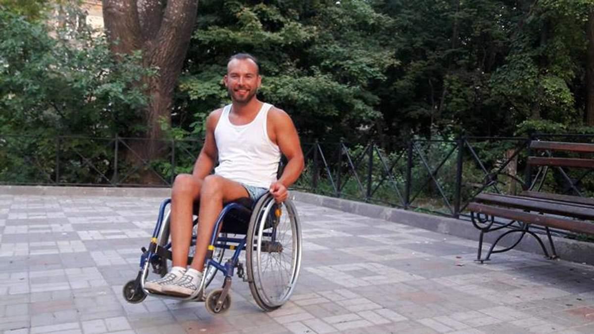 Автостопом на візку: українець розповів про захопливу подорож
