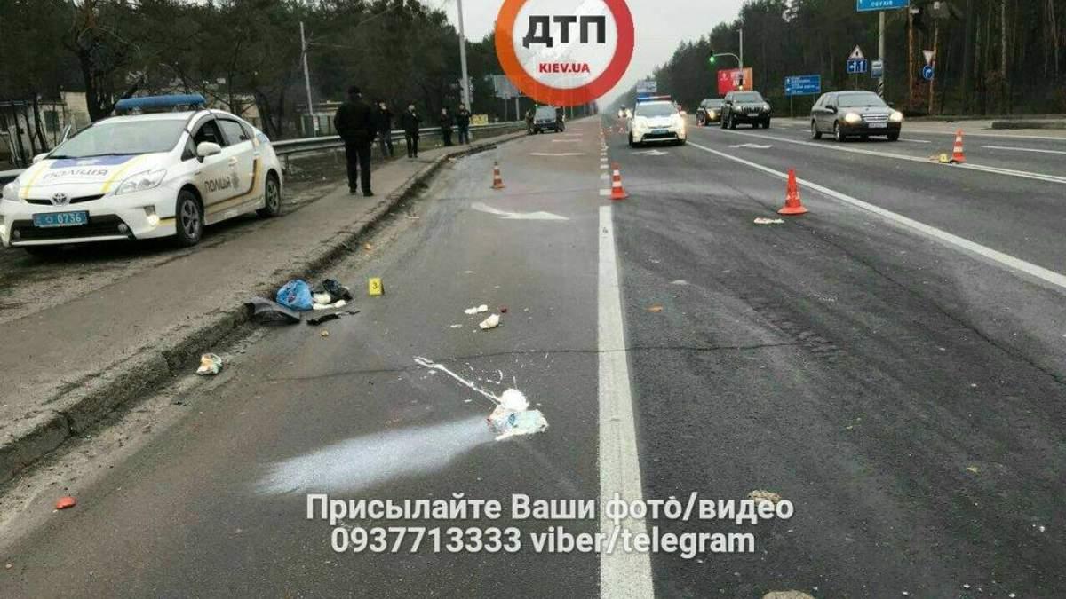 Полиция задержала водителя, который наехал на женщину в Конча-Заспе