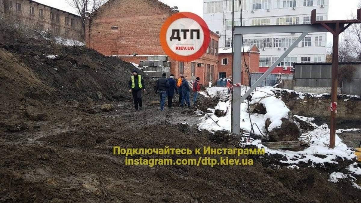 У Києві на будівництві загинув чоловік