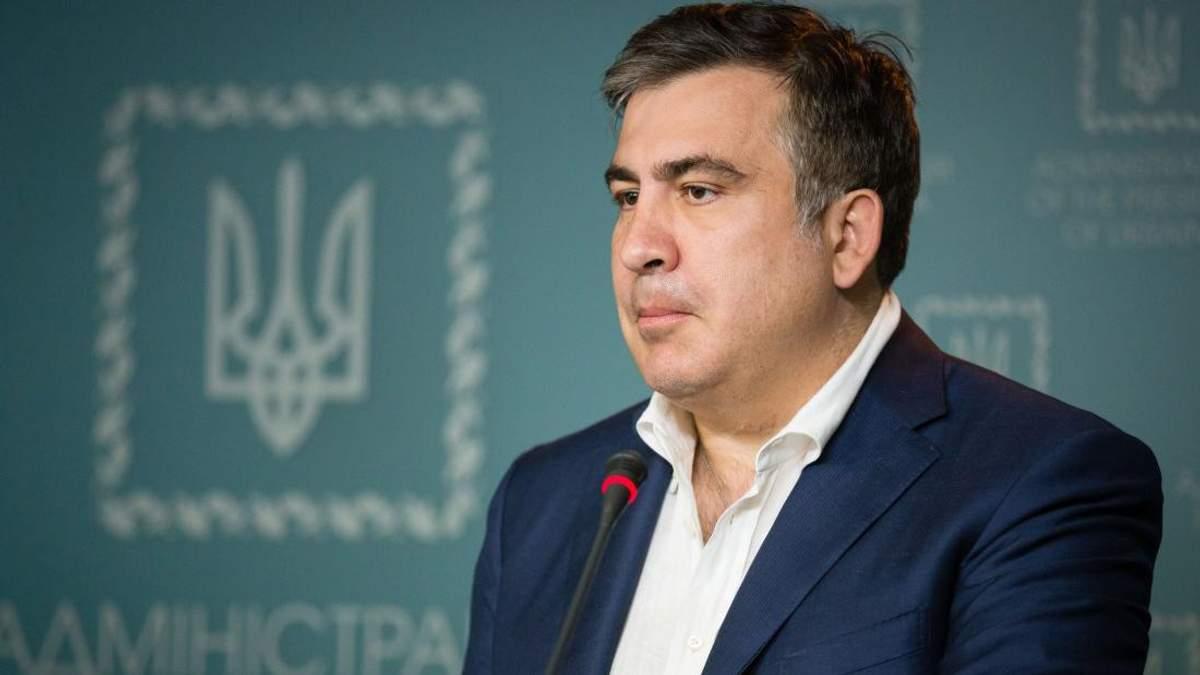 Саакашвили по телефону рассказал детали своего выдворения из Украины