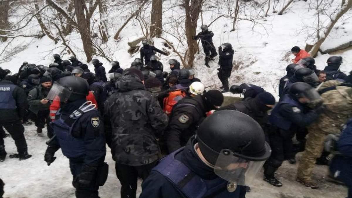 Суд над Трухановим: збільшилась кількість поранених внаслідок сутичок