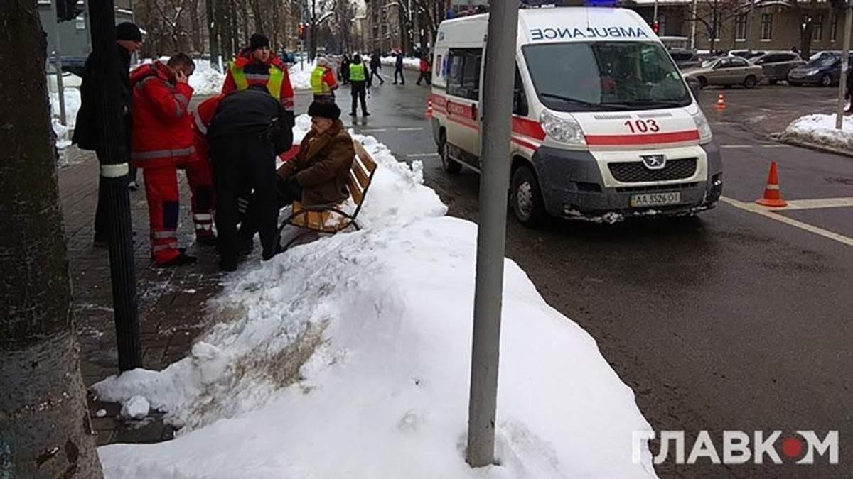 ДТП кортежа Порошенко: информация о пострадавшем