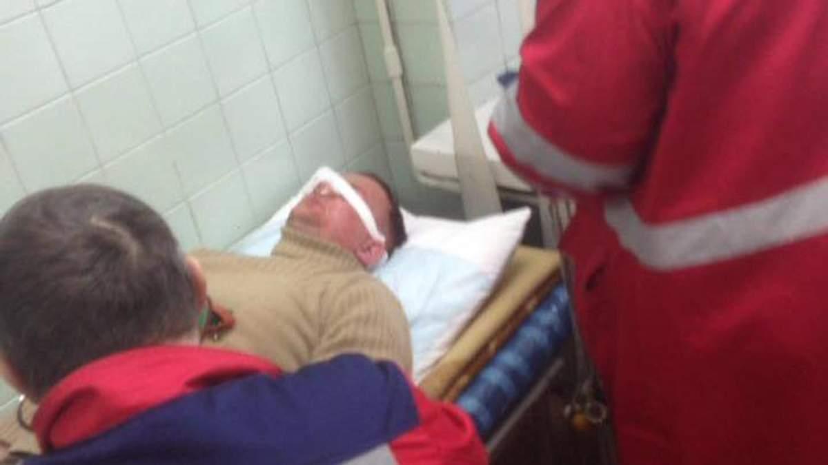 В результате избиения нардеп Левченко попал в больницу