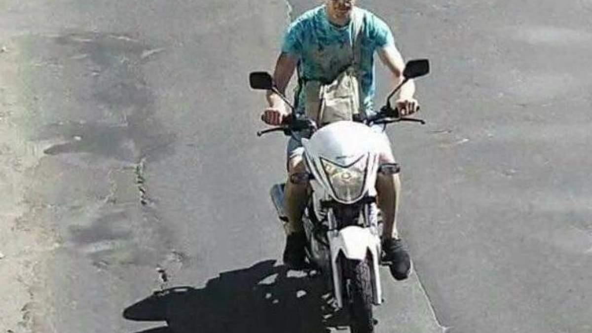 """Викрадач мотоцикла Найєма розповів, чому """"спокусився"""" на мотоцикл Найєм"""