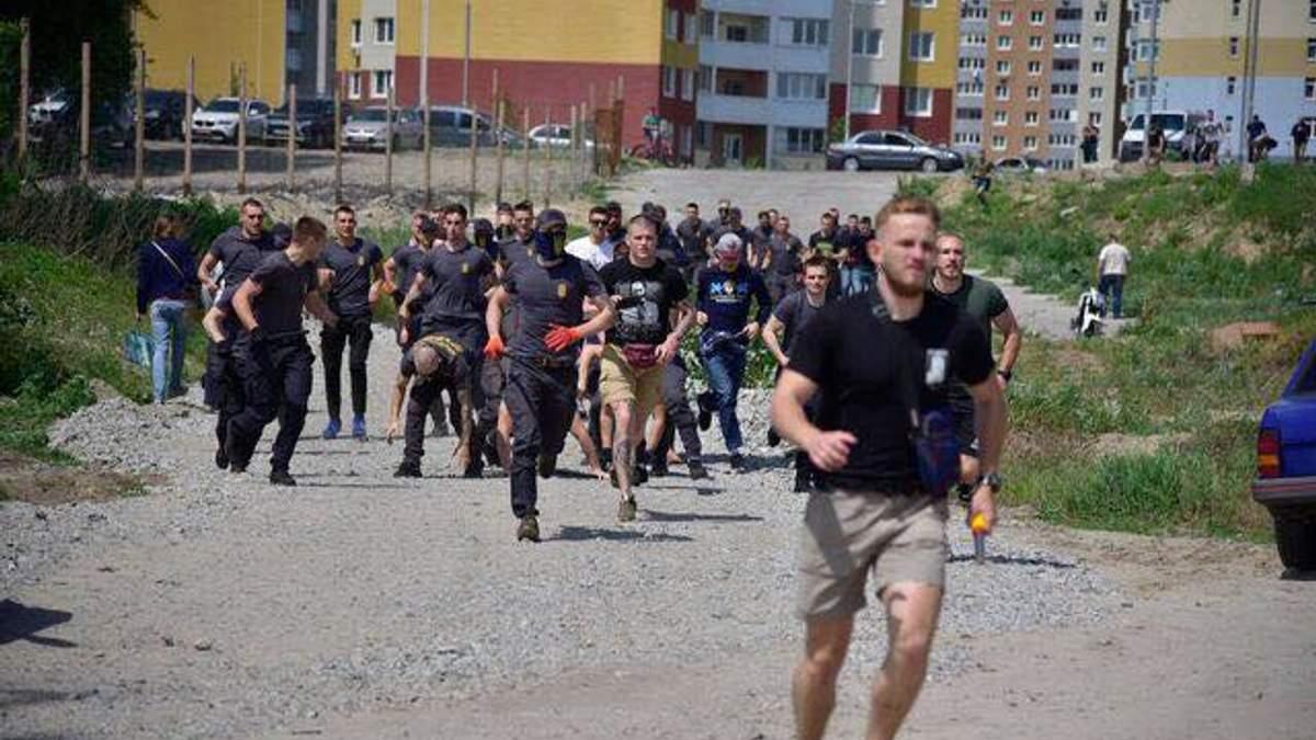Масштабная драка на стройплощадке в Киеве: много пострадавших