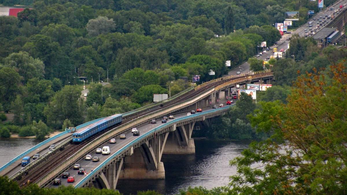 Мост Метро в Киеве