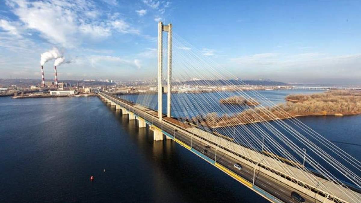 В Киеве 4 августа ограничат движение Северным мостом
