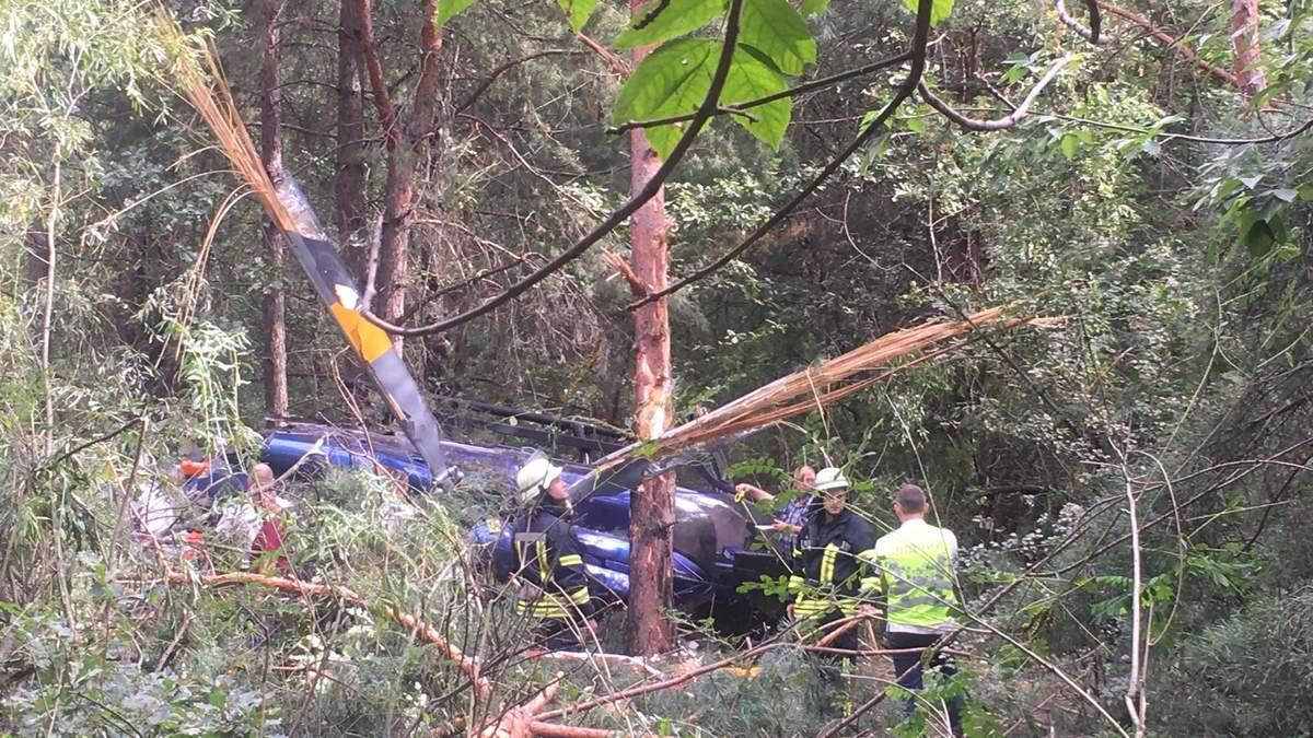 Авіакатастрофа на Трухановому острові у Києві: вертоліт належав мільярдеру Косюку
