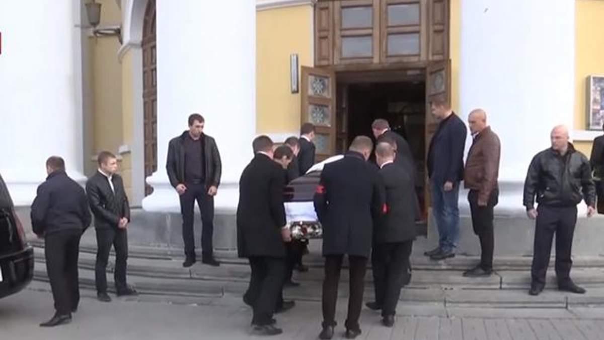 Смерть Поплавской: фото с прощания в Киеве с Поплавской