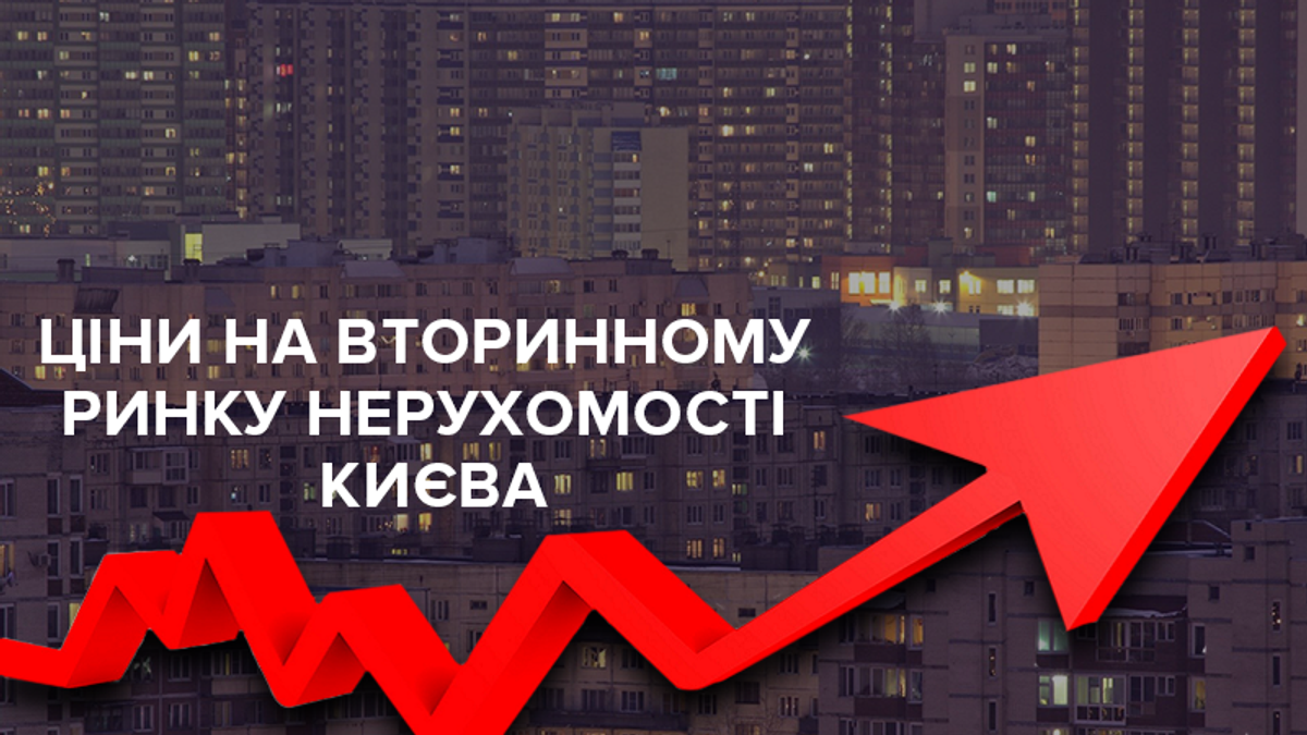 Ціни на квартири на вторинному ринку нерухомості Києва у листопаді 2018