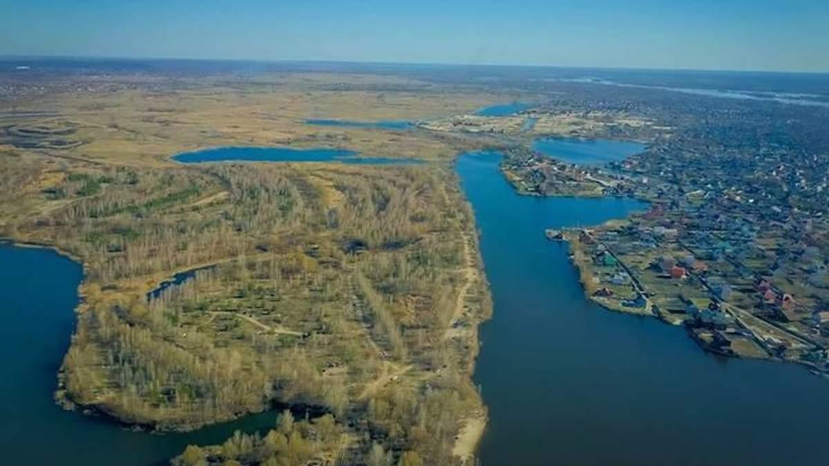 Киевсовет поддержал решение расторгнуть договор с застройщиком экопарка на Осокорках
