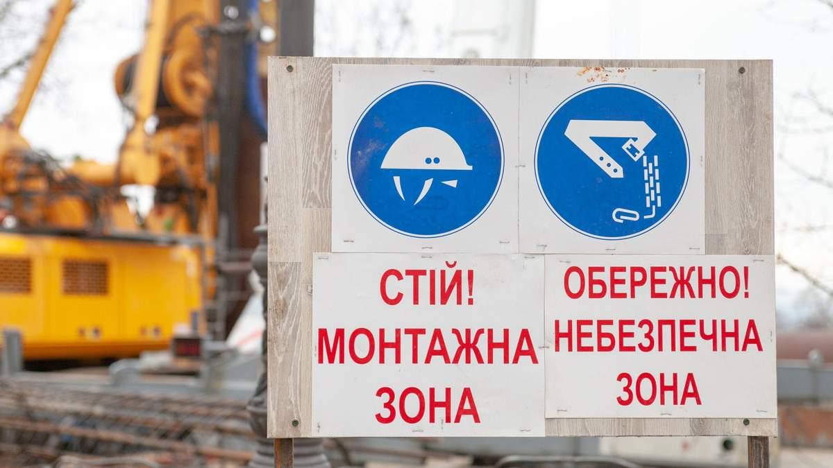 Над Володимирським узвозом почали будівництво велопішохідного мосту: візуалізація проекту