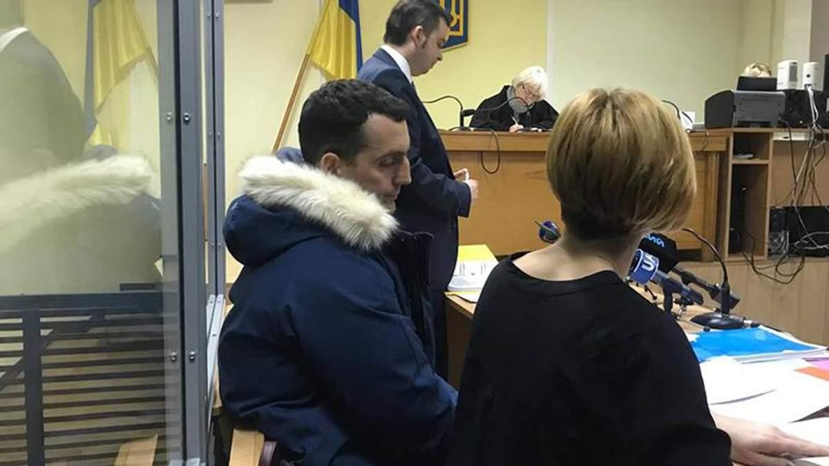 Убийство сотрудника Управления госохраны в Киеве: подозреваемому избрали меру пресечения