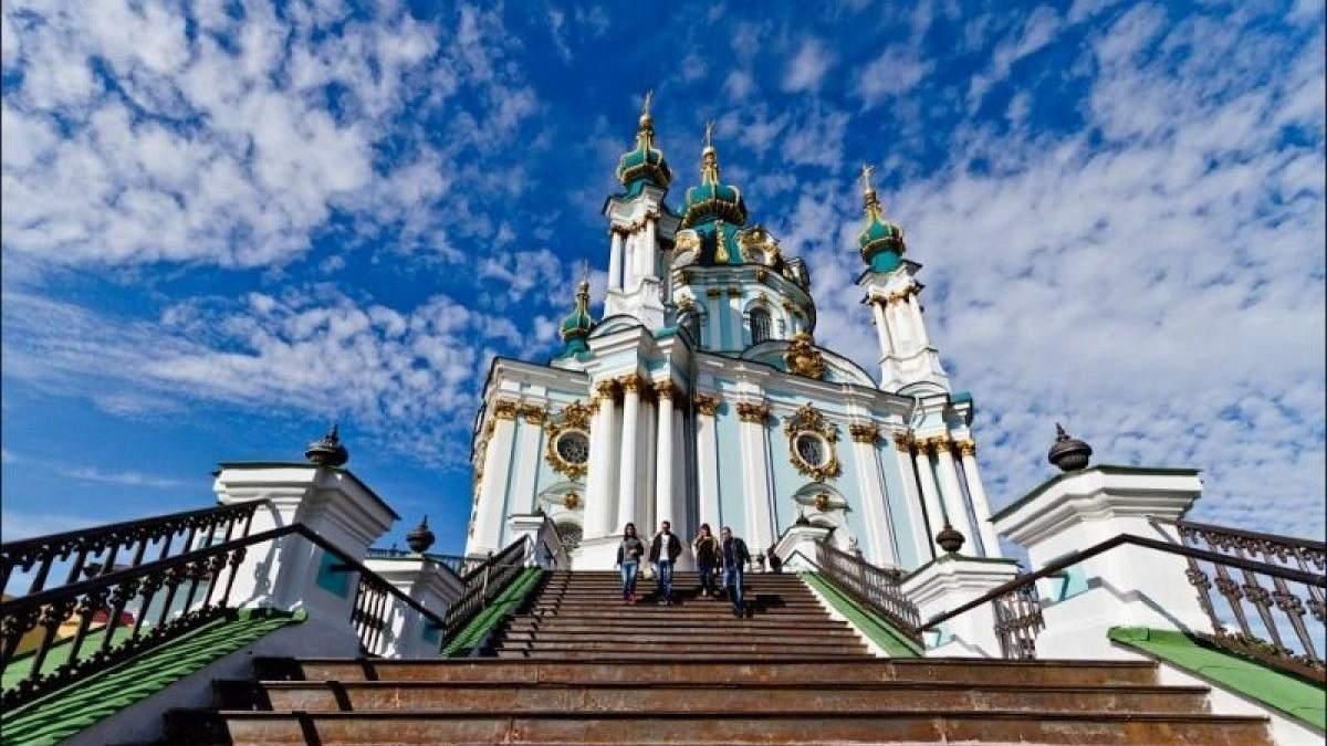 На Рождество экзарх Вселенского патриархата проведет богослужение в Андреевской церкви