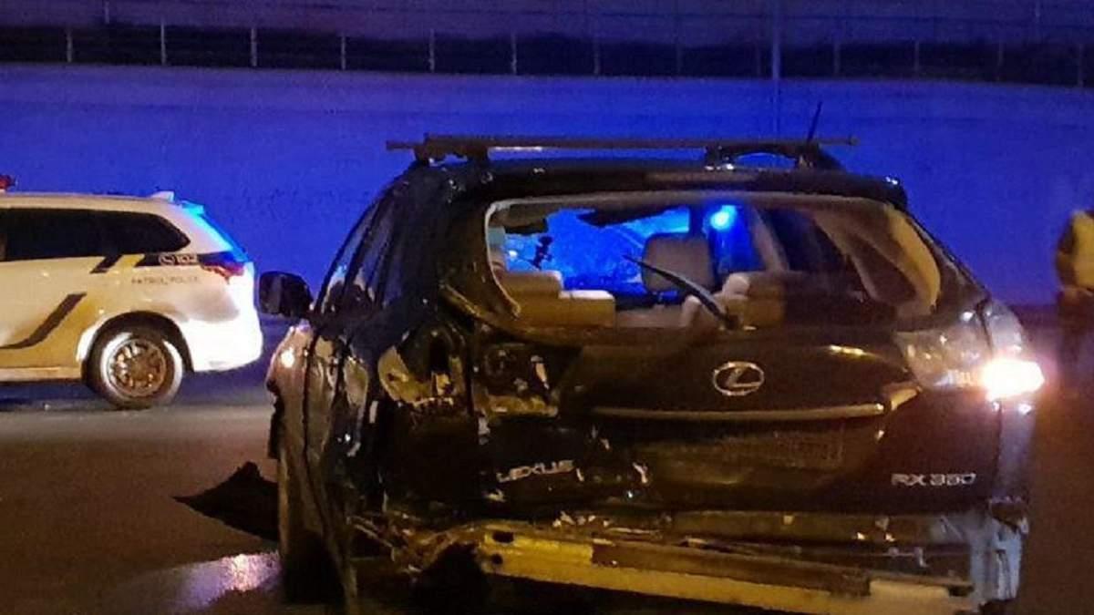 У Києві водій влаштував ДТП з чотирма авто і втік