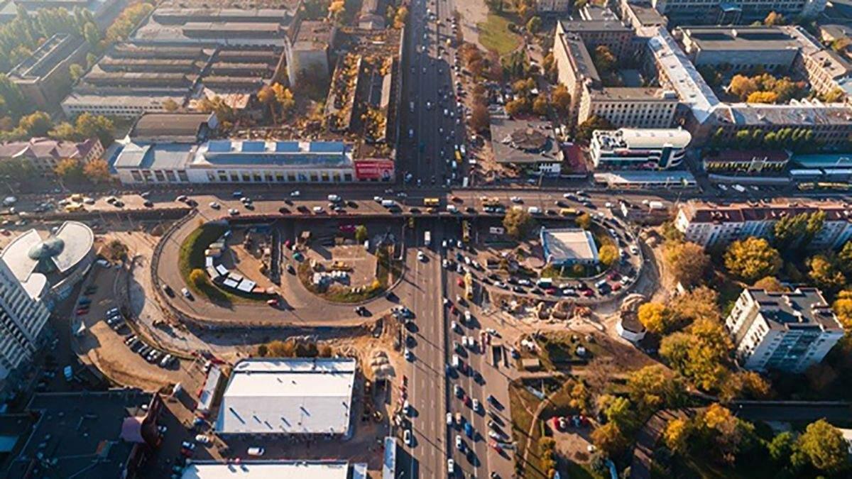 Ремонт Шулявского моста 2019 - объезд, карта как объехать мост