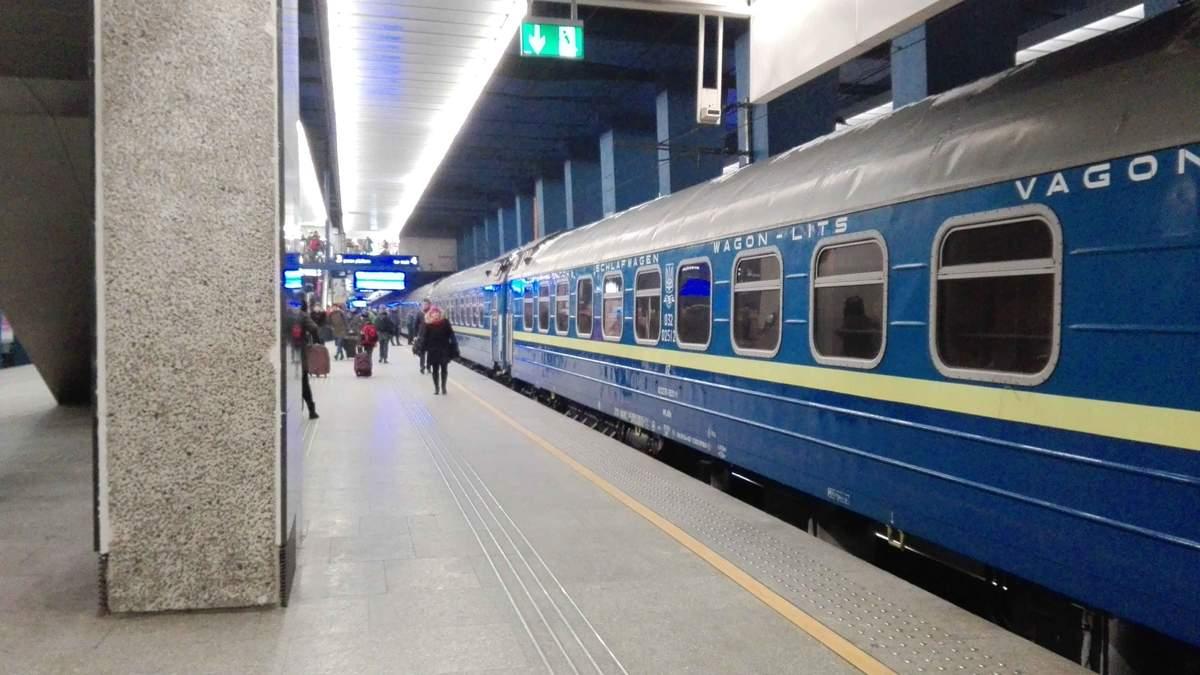 """Пасажири потягу """"Київ-Варшава"""" проходитимуть паспортний контроль на столичному вокзалі"""