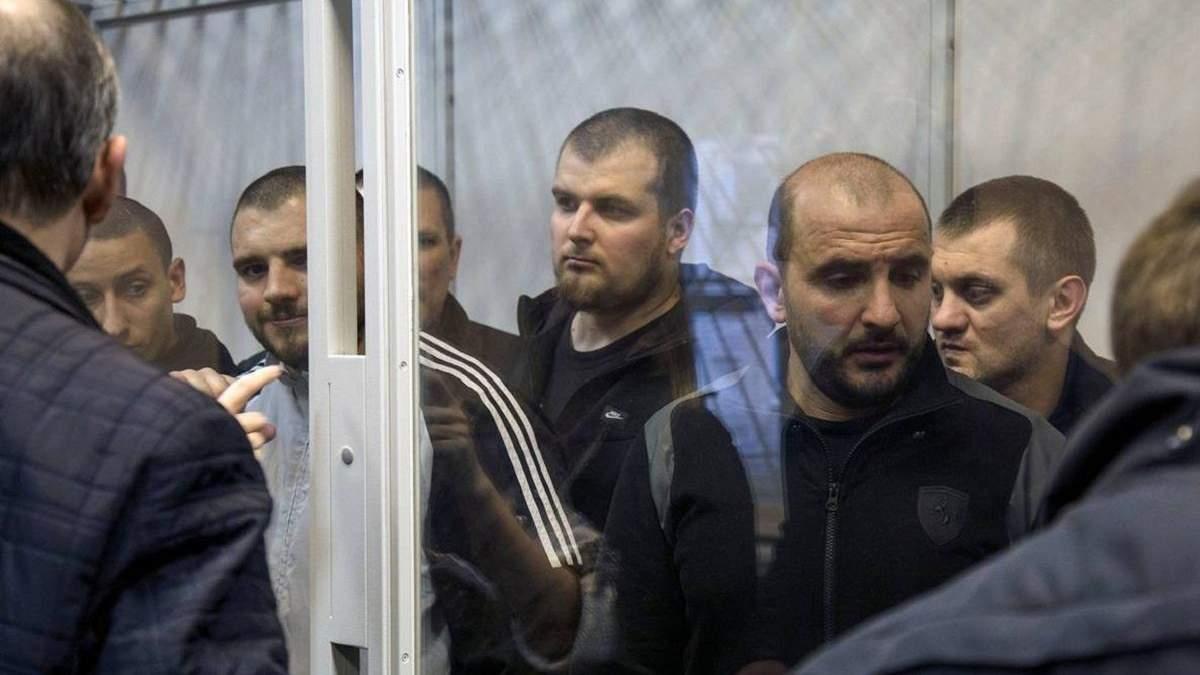 """Вбивство Віталія Олешка """"Сармата"""": суд продовжив арешт фігурантам справи (оновлено)"""