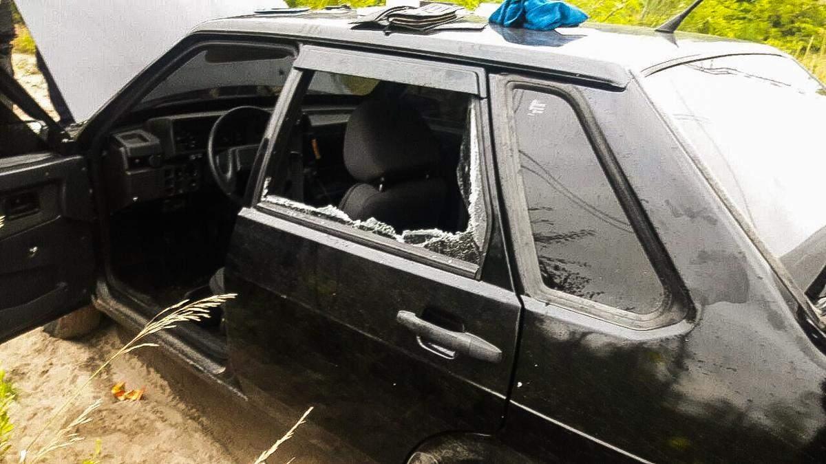 Под Киевом мужчина устроил погоню с огнестрельным оружием