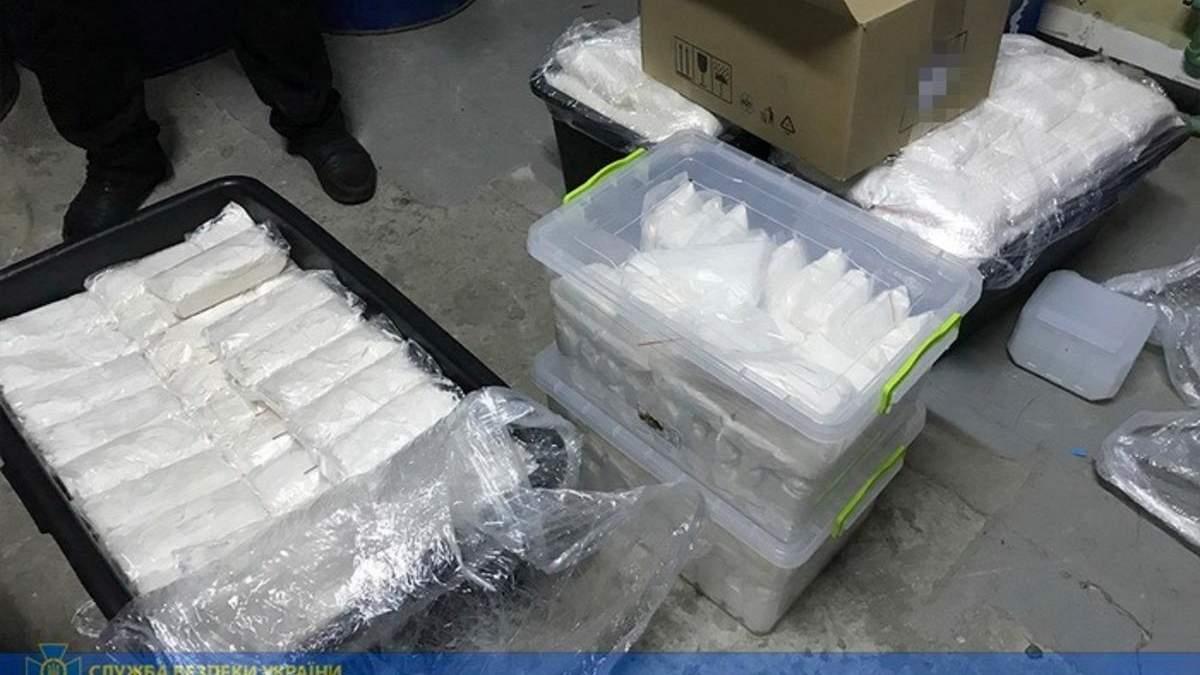 180 кілограмів наркотиків: СБУ продовжує боротьбу з російським наркосиндикатом