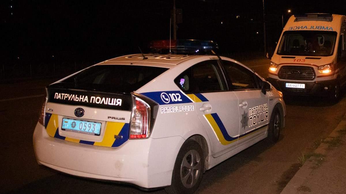 Перестрелка в Киеве
